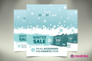 Winter Sale - Flyer