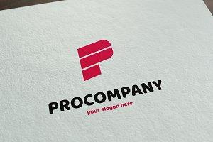 PROCOMPANY - Letter P logo