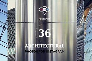 INSTAGRAM architectural photo set