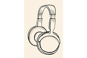 Sketch Circumaural Headphones