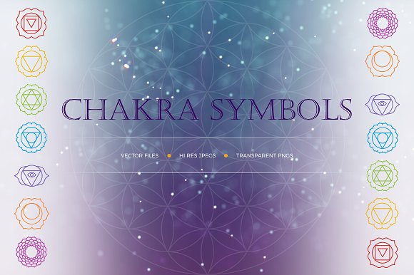 Chakra Symbols Patterns As A Gift