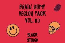 Brain Dump Vector Pack Vol. 03