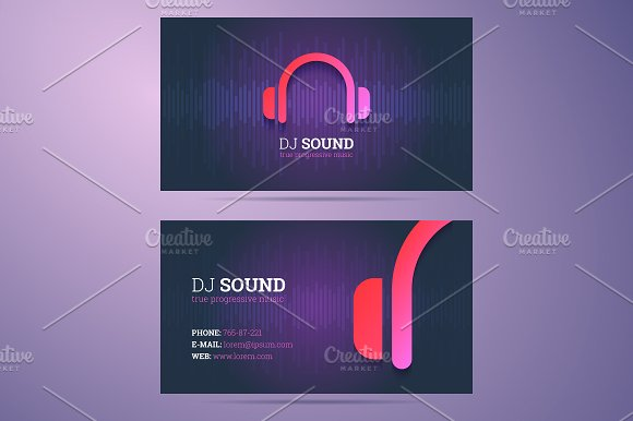 Business card template business card templates creative market colourmoves