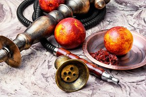 hookah with orange taste