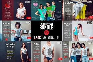 Amazing T-Shirt Mock-Up Bundle