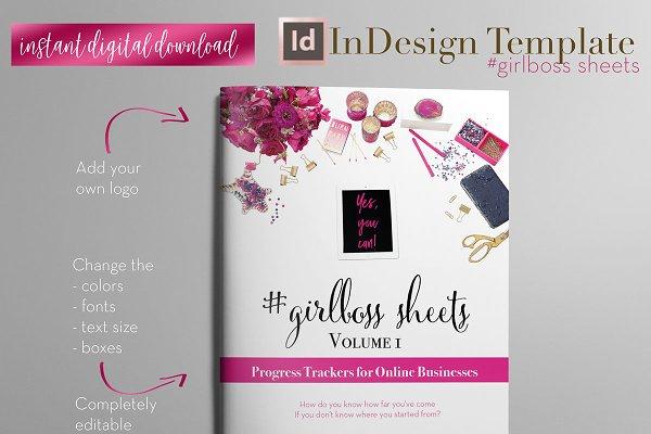 Girlboss Sheets | InDesign Template