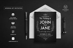 Wedding Set Invitation
