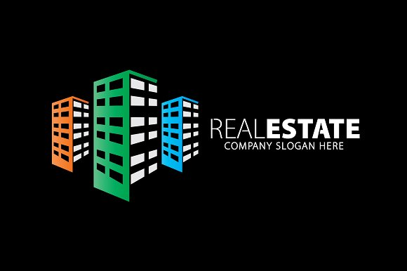 Real Estate-Building Logo