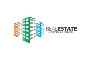 Real Estate-Building Logo
