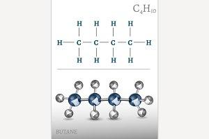 Butane Molecule