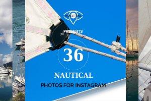 INSTAGRAM nautical photo set