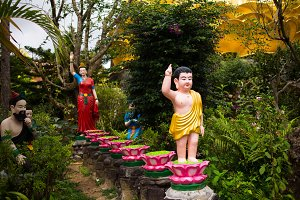 Statue of Buddha in Dalat, Vietnam