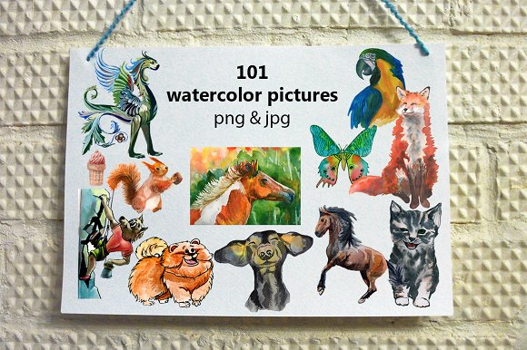 101 Watercolor Painting