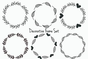 Set of 30 Decorative Frames