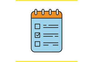 To do list icon. Vector