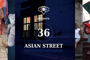 INSTAGRAM Asian street photo set
