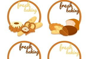 Fresh Baking price badges
