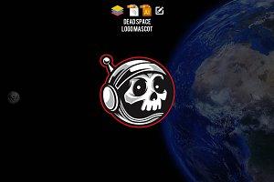 Death Space Logo Mascot