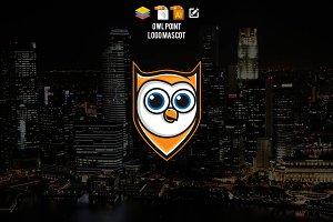 Owl Point Logo Mascot