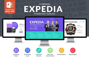 Expedia Business Powerpoint Template
