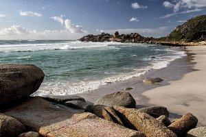 Beach of Llandudno, Cape Town