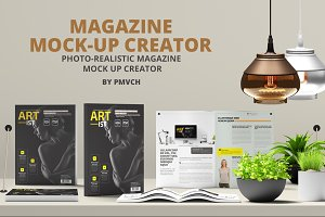 Magazine Mock Up Creator