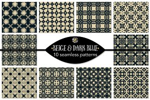 Set 48 - 10 Seamless Patterns