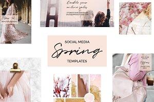 Social Media Spring Templates