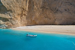 View of the island of Zakynthos