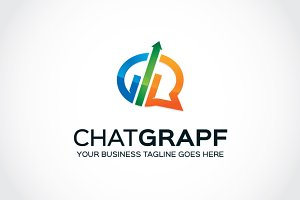 Chat Grapf Logo Template