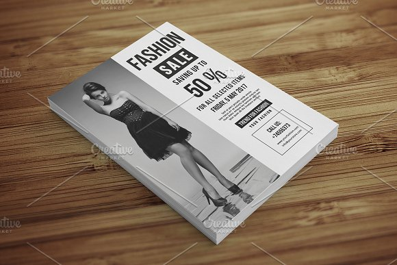 Fashion Sale Flyer-V528