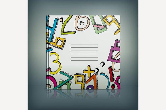 School Text Book Cover Idea