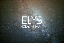 ELYS Modern Font