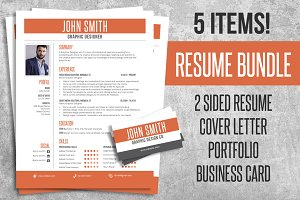 Resume CV Bundle Pack