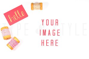 Styled Stock Photo - craft desktop