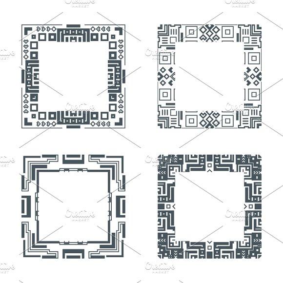 Ethnic Design Decorative