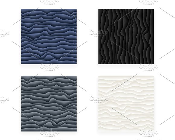 Seamless Scale Abstract Design