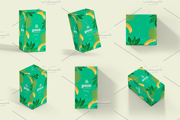 Download Rectangle Boxes Mockup