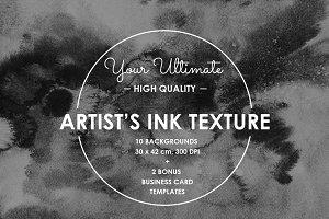 ARTIST'S INK TEXTURES