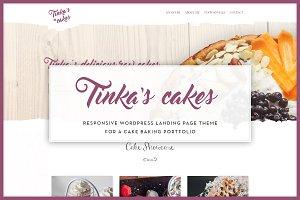 Tinka - Cake Baking Portfolio Theme