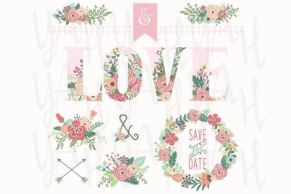 Flower Love Elements