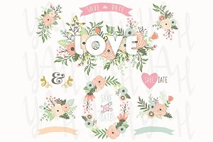Love Floral Bouquet Collection
