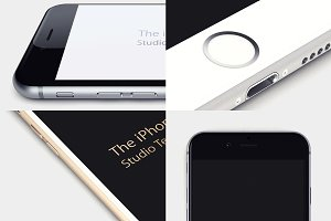 Studio iPhone 6 Templates