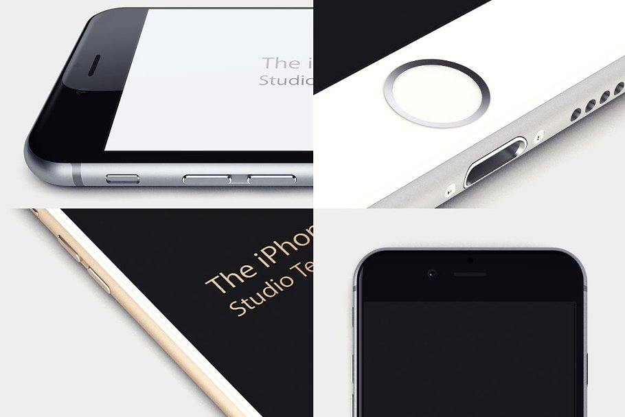 Studio iPhone 6 Templates in Product Mockups - product preview 8