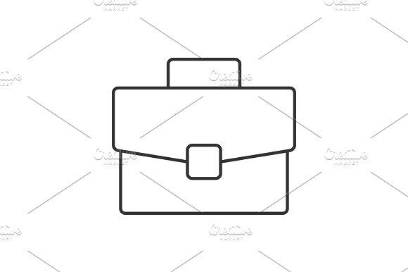 Portfolio Linear Icon