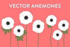 Vector Anemones