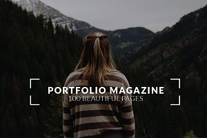 100 pages Portfolio Magazine