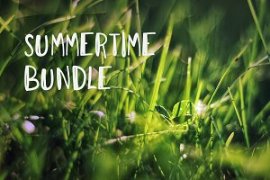 75% OFF+BONUS! 4 summertime photos
