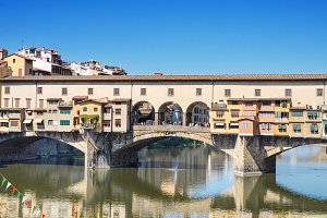 Ponte Vechio in Firence, Italy.