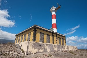 Lighthouse In Tenerife island,Spain.